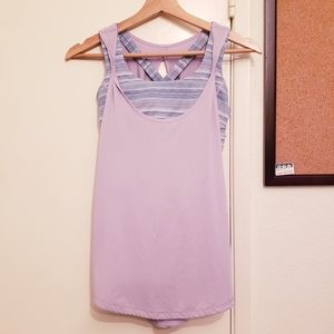 Lululemon Lavander Sports bra top